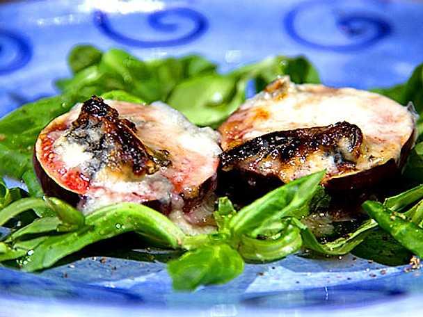 Gorgonzolabakade fikon