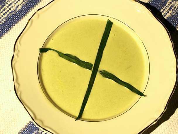 Gotländsk kajpsoppa med parmesansticks