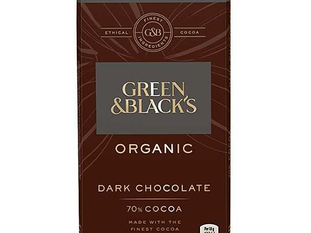 Green and blacks choklad