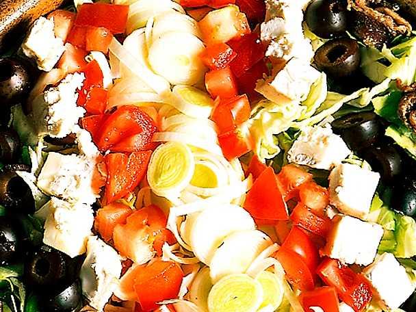 Grekisk sallad med fetaost
