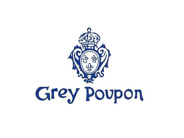Grey Poupon logga