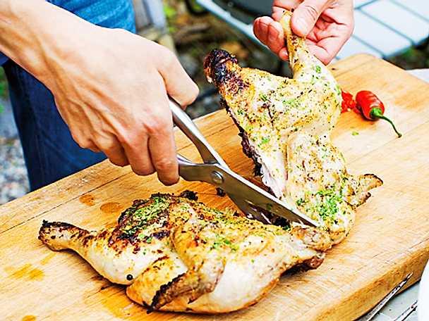 "Grillad kyckling ""diablo"" med 4 sorters peppar"