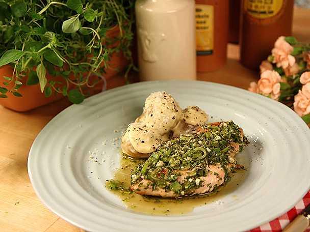 Grillad kycklingfilé med chimichurri