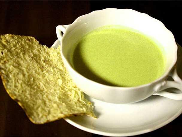 Grön ärtsoppa - Crème à la Ninon