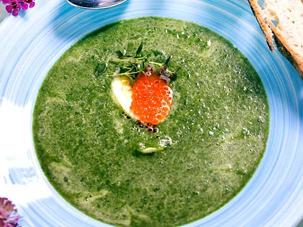 Grön vårsoppa