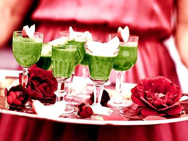 Gröna kicken - hälsoshot med avocado