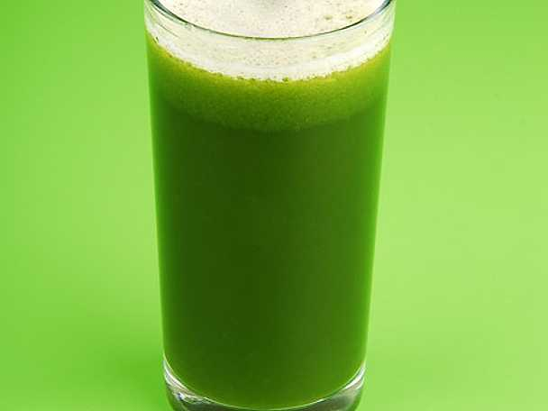 Gröna sköna drinken