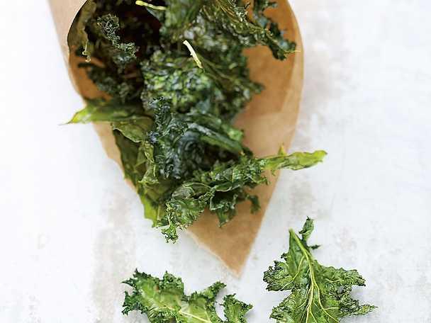 Grönkålschips - Kristina Anderssons recept