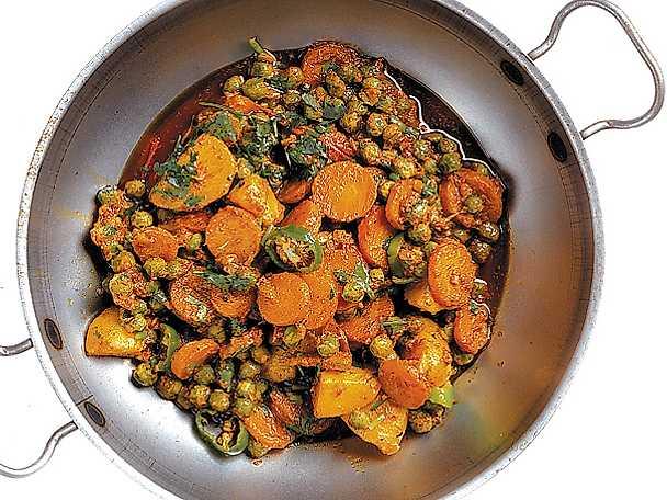 Grönsakscurry med spiskummin