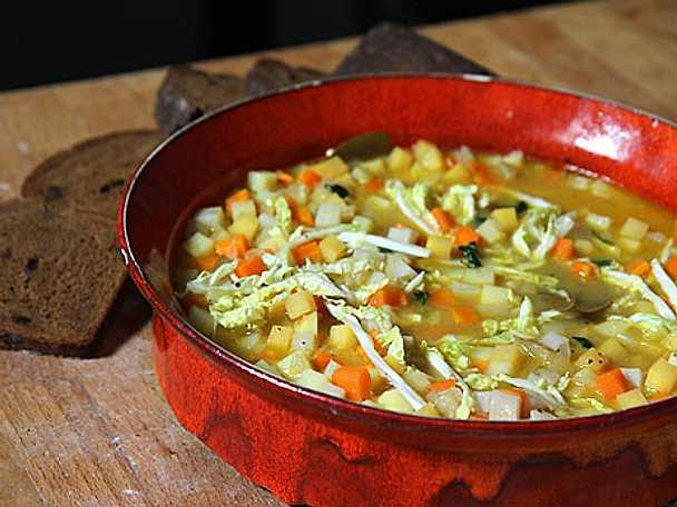 god grönsakssoppa recept