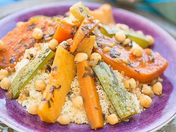 Grönsakstagine, Markiz recept