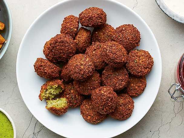 Grundrecept på falafel