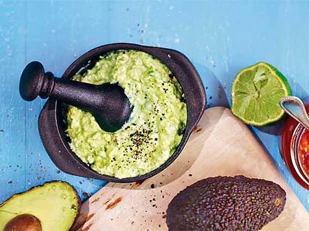 Guacamole med gräddfil