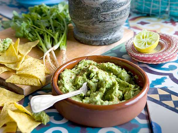 Guacamole med jalapenos