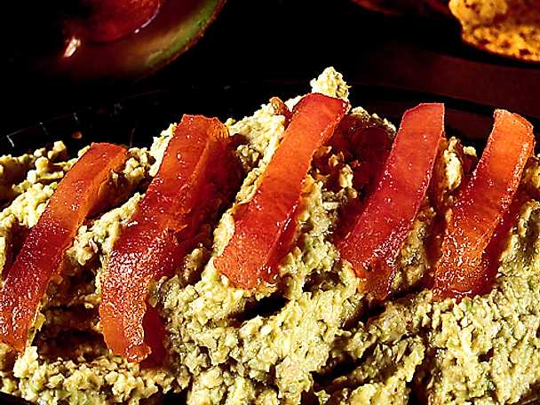 Guacamole med rökt lax