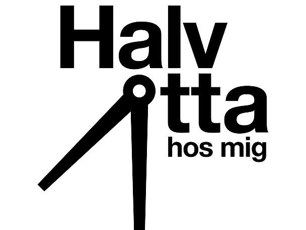 Halv åtta hos mig logo