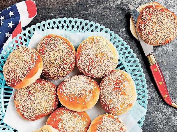 Hamburgerbröd -Lena Söderströms recept