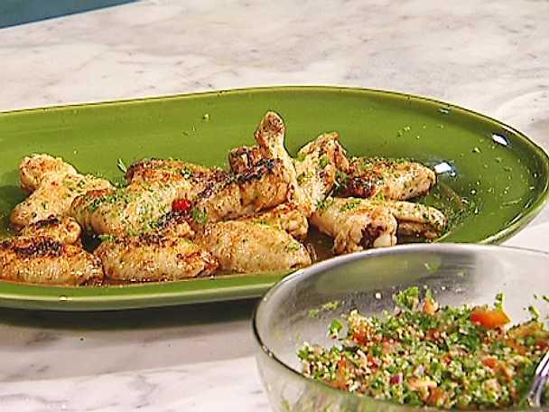 Härliga kycklingvingar med smak av orienten