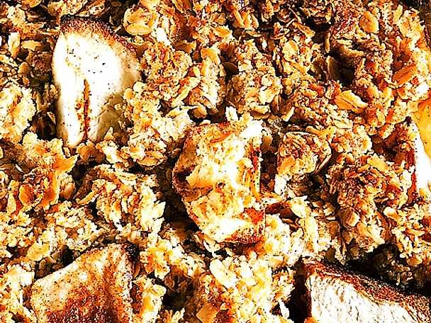 Havreäppelkaka