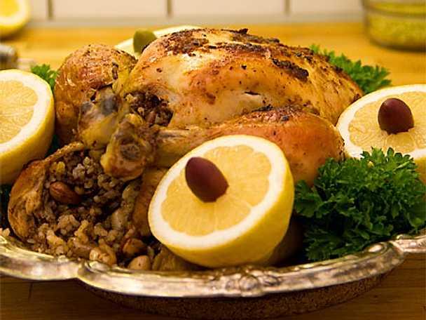 Hel kyckling à la Silvia