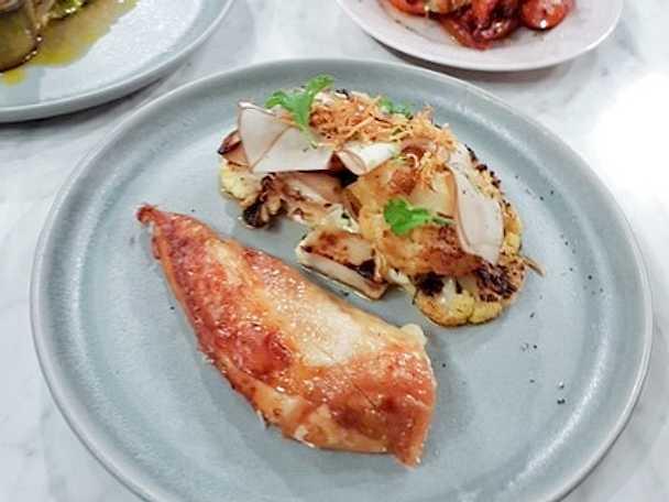 Helrostad kyckling med sardellolja