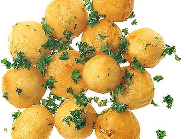 Helstekt potatis