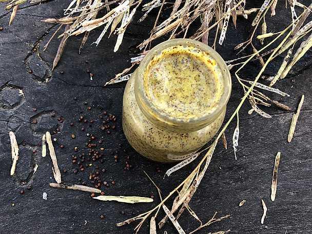 Hemgjord senap, Mandelmanns recept