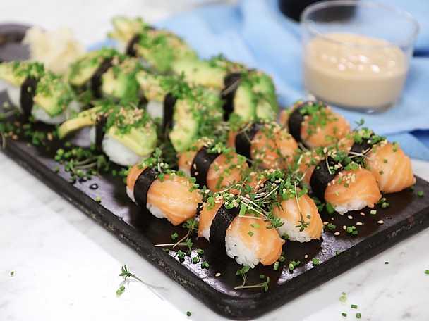 Hemgjord sushi - Jennie Walldéns recept