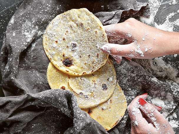 Hemgjorda tortillabrod