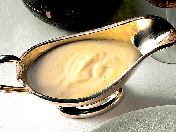 Hemlagad vaniljsås