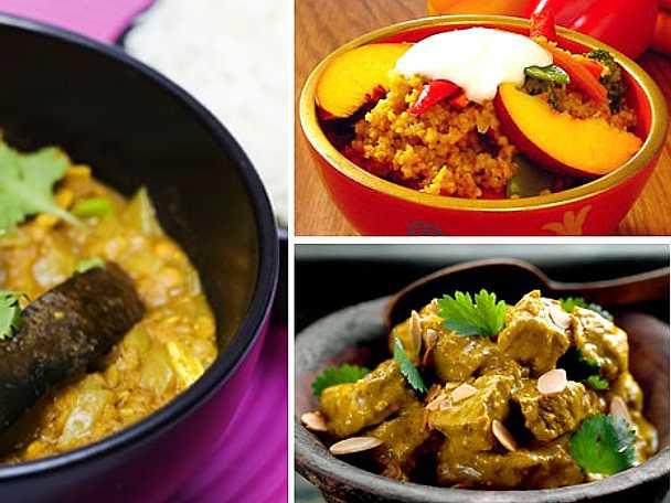 Heta curryrecept