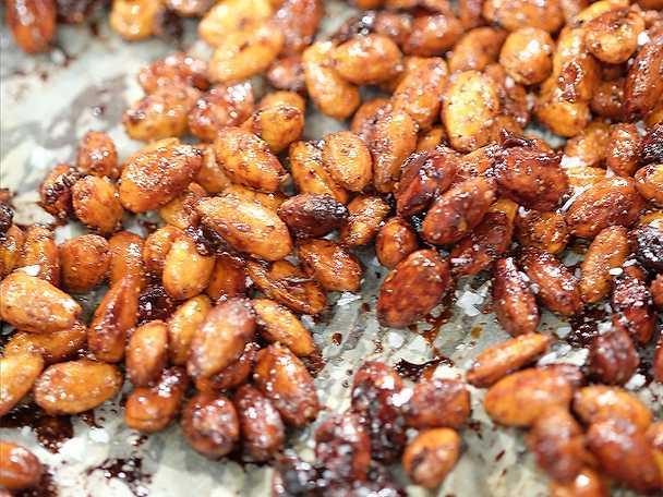 Honungsrostade mandlar
