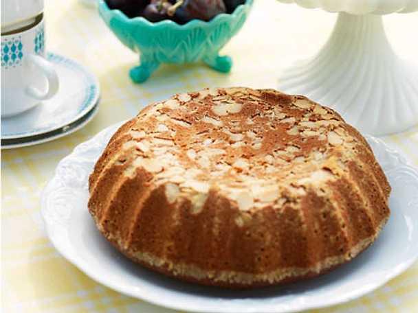 Honungssockerkaka med mandel