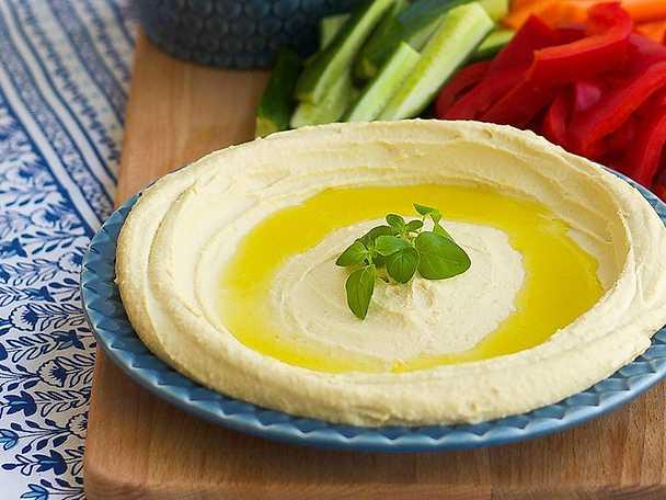 Hummus, Zeina Mourtadas recept