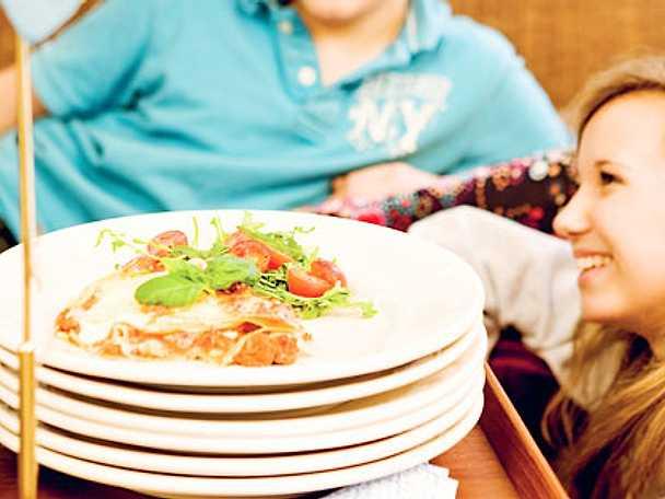 Husmorsornas lasagne