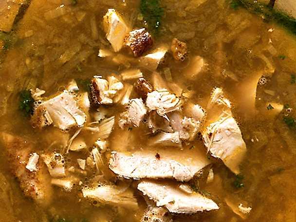 Indisk currysoppa med kyckling