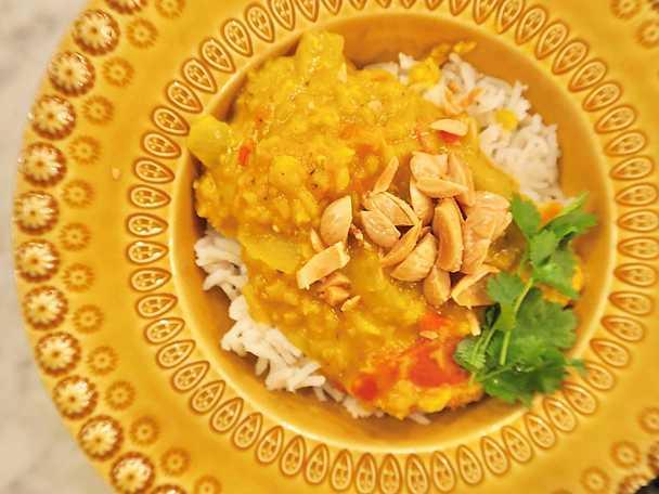 Indisk daal, Jessica Frejs recept