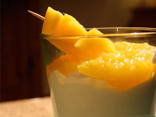 Indisk mango och yoghurtdessert - Srikand