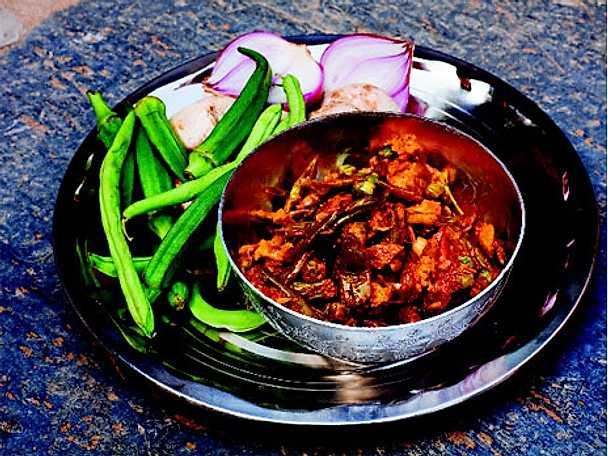 Indisk ratatouille - Jal frezi