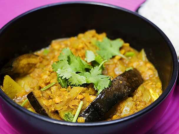 Indiskt och vegetariskt