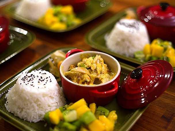 Indonesisk kycklinggratäng