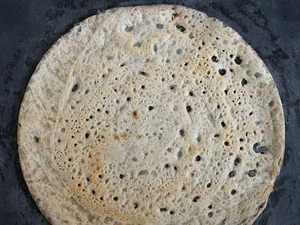 Injera - syrad pannkaka