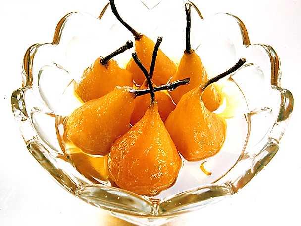 Inkokta päron