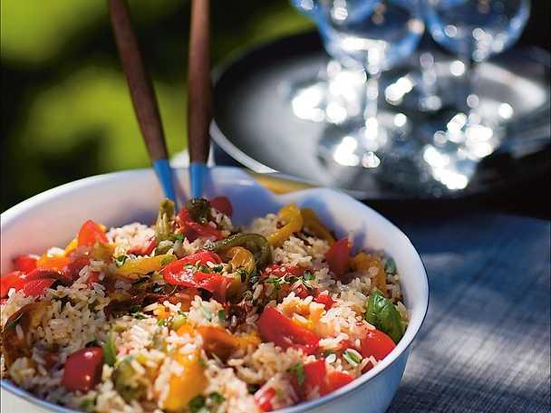 Insalata di riso - rissallad till grillat