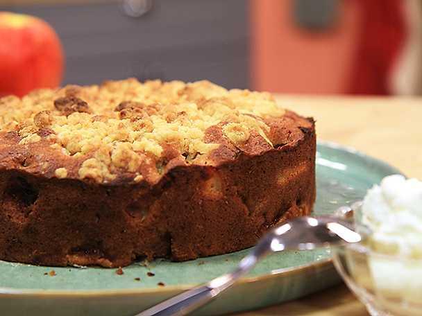 Irländsk apple crumble cake