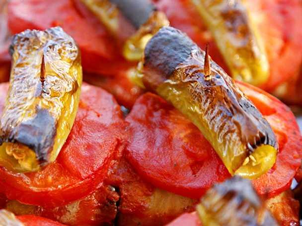 Islim kebab från Turkiet