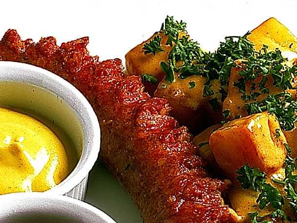 Isterband med skånsk potatis och senap