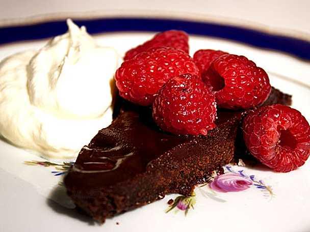 Italiensk chokladkaka