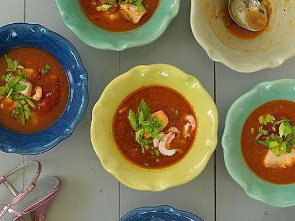Italiensk fisksoppa Vinodore