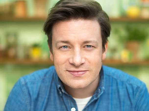 Jamie Oliver närbild